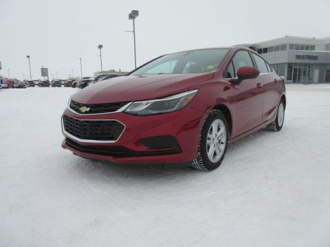 Certified Pre-Owned 2017 Chevrolet Cruze LT. Text 780-205-4934 for more information! FWD 4dr Car