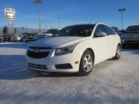 Pre-Owned 2013 Chevrolet Cruze 2LT. Text 780-205-4934 for more information! FWD 4dr Car