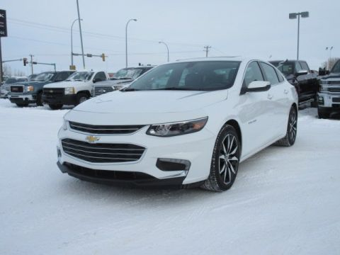 Certified Pre-Owned 2017 Chevrolet Malibu LT. Text 780-205-4934 for more information! FWD 4dr Car