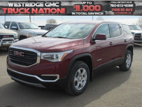 New 2018 GMC Acadia SLE. Text 780-872-4598 for more information! AWD