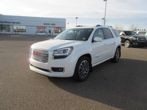 Certified Pre-Owned 2014 GMC Acadia Denali. Text 780-205-4934 for more information! AWD