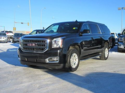 Certified Pre-Owned 2017 GMC Yukon XL SLT. Text 780-205-4934 for more information! 4WD
