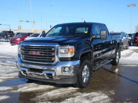 Pre-Owned 2015 GMC Sierra 2500HD SLT. Text 780-205-4934 for more information! 4WD