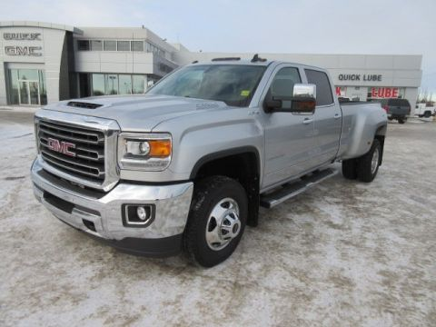 New 2018 GMC Sierra 3500HD SLT. Text 780-872-4598 for more information! 4WD