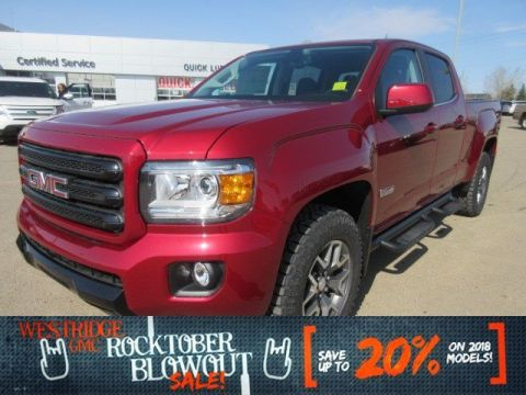 New 2018 GMC Canyon 4WD All Terrain. Text 780-872-4598 for more information!