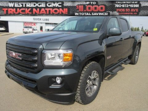 New 2018 GMC Canyon 4WD SLE. Text 780-872-4598 for more information! 4WD