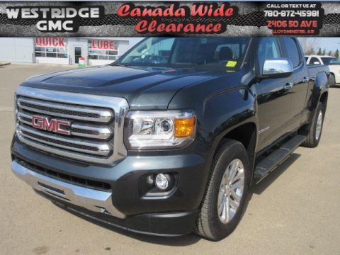 New 2018 GMC Canyon 4WD SLT. Text 780-872-4598 for more information!