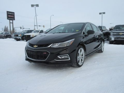 Certified Pre-Owned 2017 Chevrolet Cruze Premier. Text 780-205-4934 for more information! FWD Hatchback