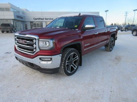 New 2018 GMC Sierra 1500 SLT. Text 780-872-4598 for more information! PRICE INCLUDES 22'S Crew Cab Pickup