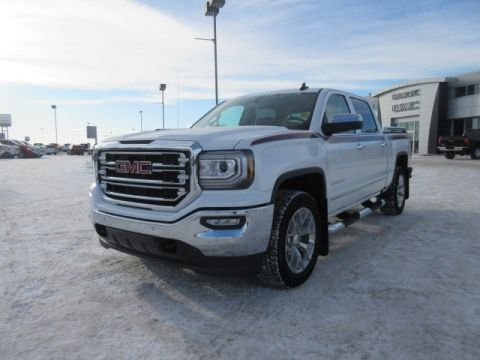 New 2018 GMC Sierra 1500 SLT. Text 780-872-4598 for more information! GFX TRUCK Crew Cab Pickup