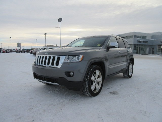 Certified Pre-Owned 2013 Jeep Grand Cherokee Overland. Text 780-205-4934 for more information!