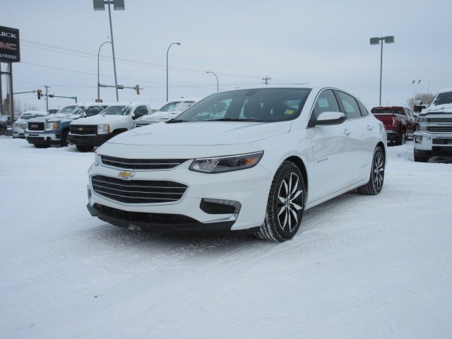 Certified Pre-Owned 2017 Chevrolet Malibu LT. Text 780-205-4934 for more information!
