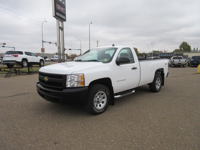 Pre-Owned 2011 Chevrolet Silverado 1500 Work Truck. Text 780-205-4934 for more information!