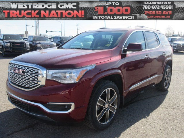 New 2018 GMC Acadia Denali. Text 780-872-4598 for more information!