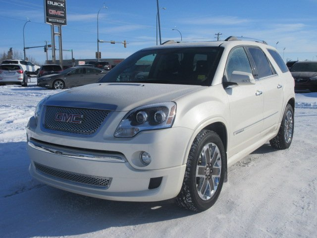 Pre-Owned 2012 GMC Acadia Denali. Text 780-205-4934 for more information!