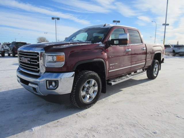 Pre-Owned 2015 GMC Sierra 2500HD SLT. Text 780-205-4934 for more information!