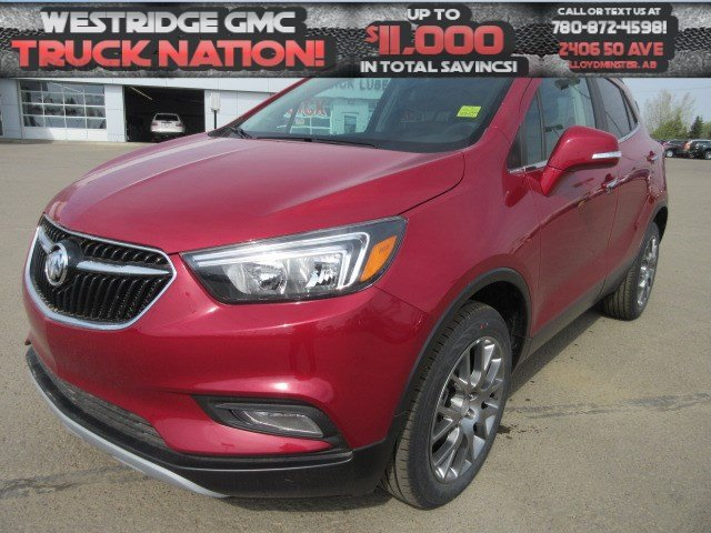 New 2018 Buick Encore Sport Touring. Text 780-872-4598 for more information!